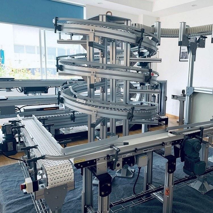 柔性板链线用于地板包装生产