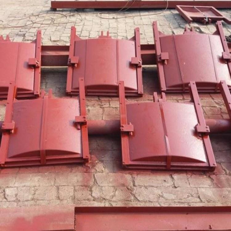 PGZ平面拱形铸铁镶铜闸门1000×1000mm  铸铁闸门的使用安装与维护