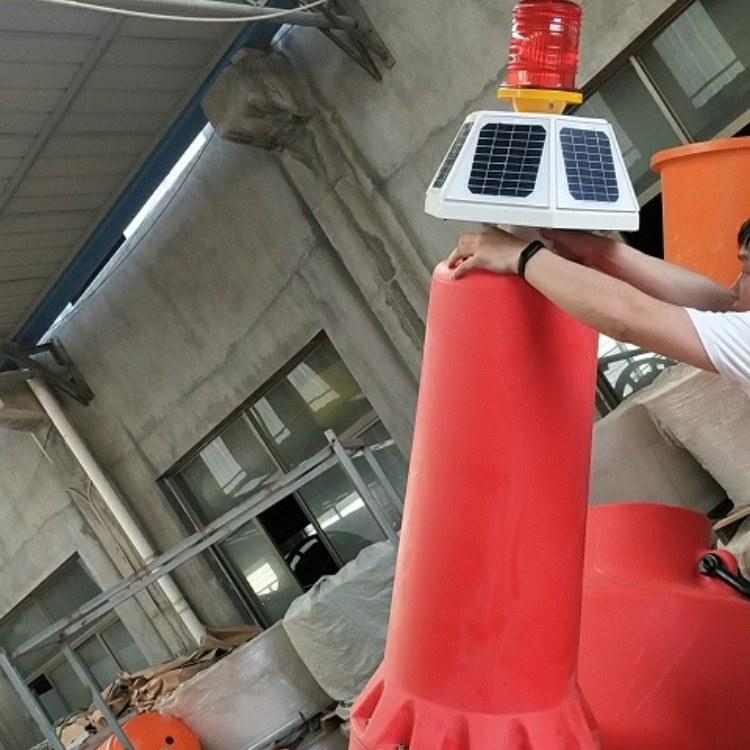 宁波海洋浮标 友特容器大型航标浮漂批发 带灯警示浮标报价