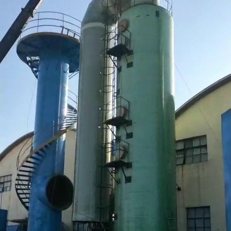 玻璃钢脱硫塔 迁西石灰厂烟气处理用管束式玻璃钢脱硫塔厂家