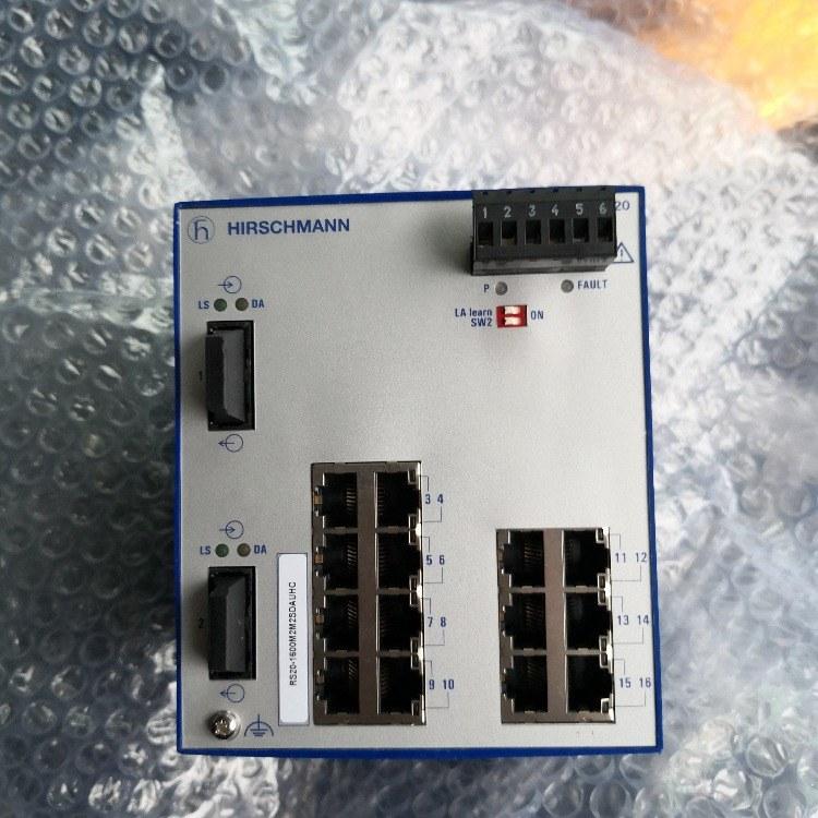 赫斯曼交换机 工业以太网交换机 RS20-1600T1T1SDAUHC 赫斯曼 厦门
