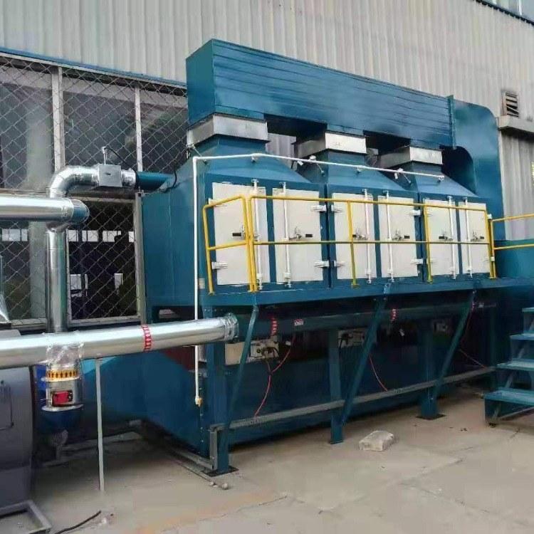 工业催化燃烧废气处理设备 锐驰朗 废气净化器除臭设备RTO/RCO催化燃烧
