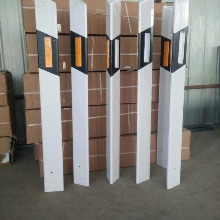 玻璃钢柱式轮廓标 pvc柱式轮廓标 标志桩警示牌 伟安厂家直销