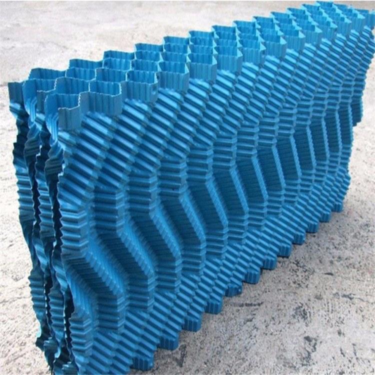 pvc冷却塔凉水塔散热塔填料散热片圆形逆流