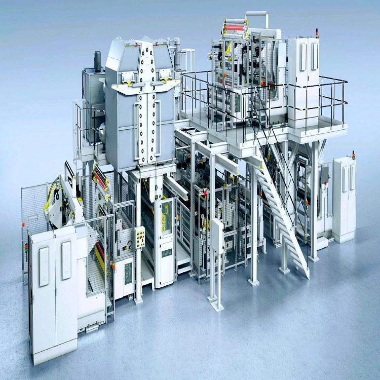 塑料膜复合机1.6米 塑料膜复合机 国塑 淋膜机专业制造商