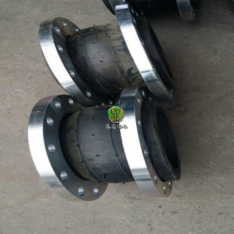 加固型限位可曲挠橡胶接头安装说明华鼎电话详谈可曲挠橡胶接头安装规范