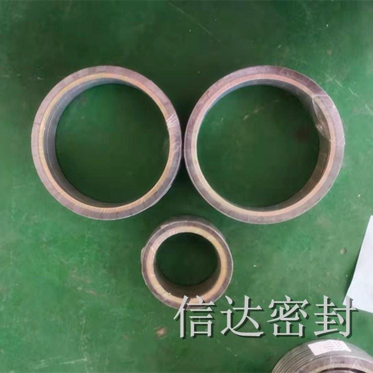 特殊材质D1929金属缠绕垫片  【信达密封】生产加工  内外环金属缠绕垫片   厂家直销