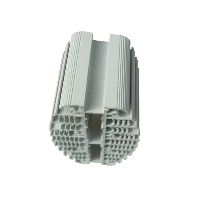 鑫前胜电子异型铝材散热器 挤压铝型材 翅片式散热器铝型材加工定制