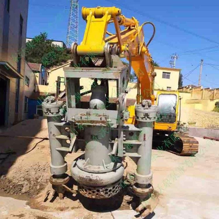 徐州挖掘机抽渣泵 液压清淤泵 河道吸沙泵