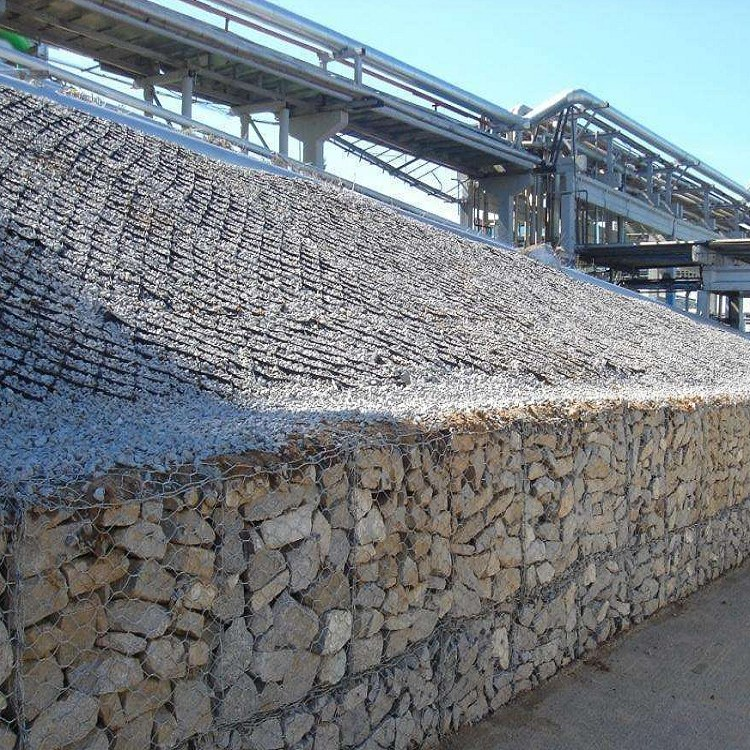 石森 包塑石笼网 铅丝石笼网 高尔凡格宾网 专业生产 包塑石笼网
