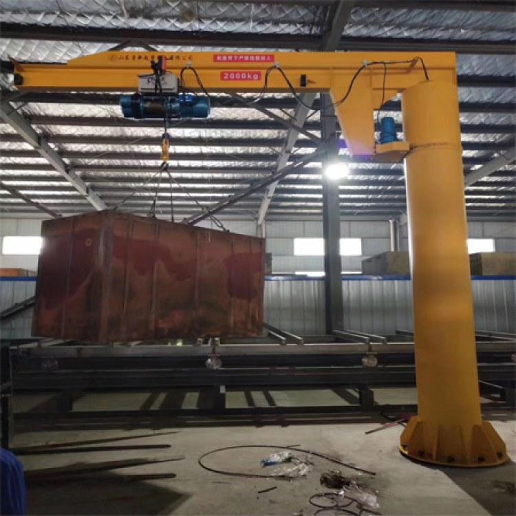 鲁新  BZ型定柱式悬臂吊哪家好 墙比式悬臂吊优质厂家