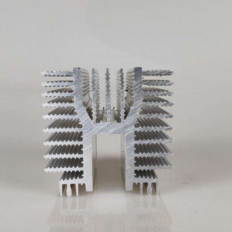 高品质铝型材电子散热器 梳子型散热器 挤压铝型材定制