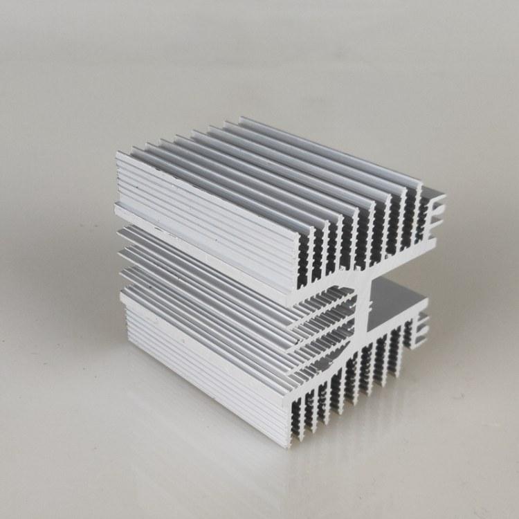 佛山梳子散热器 工业 电子散热器 挤压铝型材cnc加工开模定制