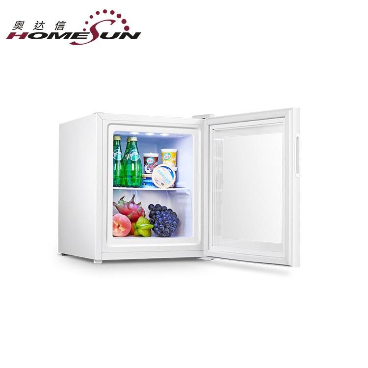 玻璃门全静音小冰箱-客房静音小冰箱-迷你冰箱厂家直销