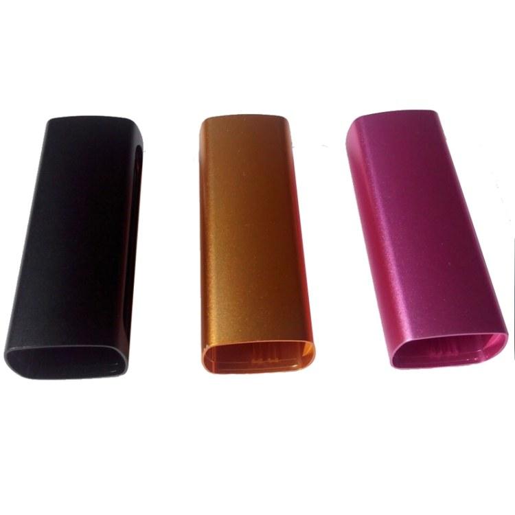 挤压铝型材外壳 专业生产铝型材壳体 电子烟铝合金外壳定制