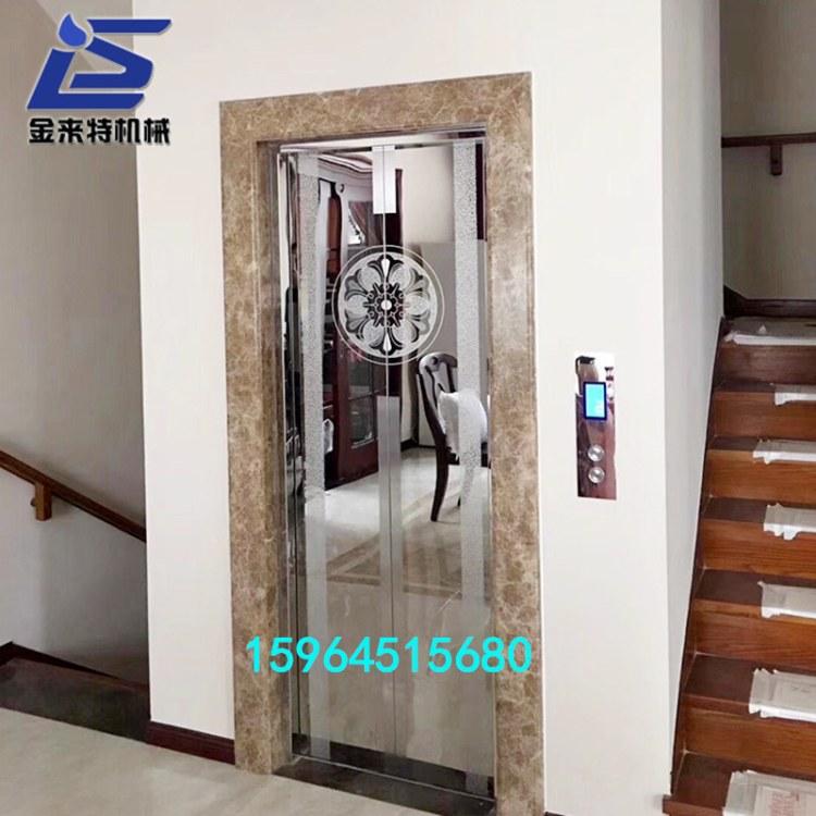 家用别墅电梯小型家用电梯液压家用升降平台拓升达别墅小型电梯定做供应