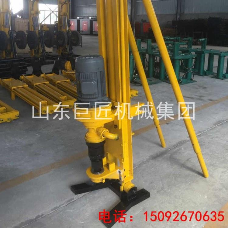华夏巨匠潜孔钻机视频KQZ-100D气电联动潜孔钻机