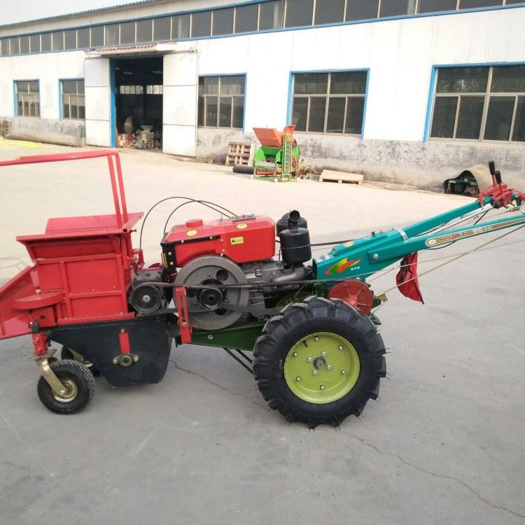 玉米扒皮摘穗秸秆粉碎还田机 柴油玉米收割机