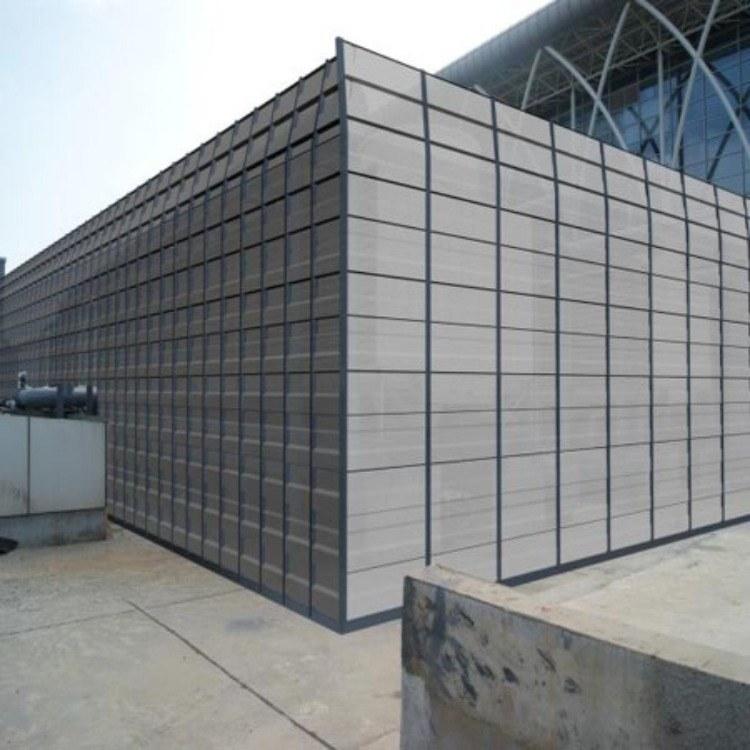 厂房/设备噪音声屏障 冷却塔声屏障厂家