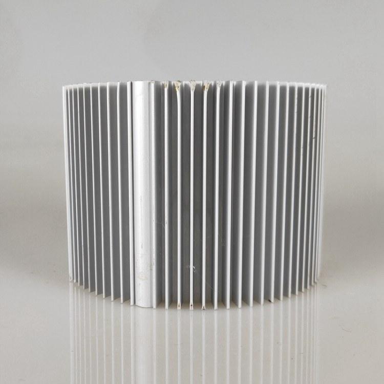 佛山厂家定制LED电子散热器铝型材 灯具散热器铝合金型材来样加工