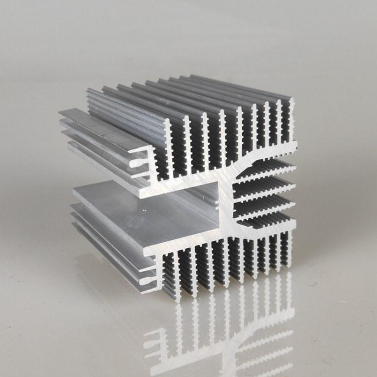 佛山高品质铝型材电子散热器 梳子散热器 工业铝型材cnc加工定制