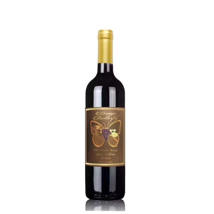 澳洲梦蝶珍藏色拉红葡萄酒