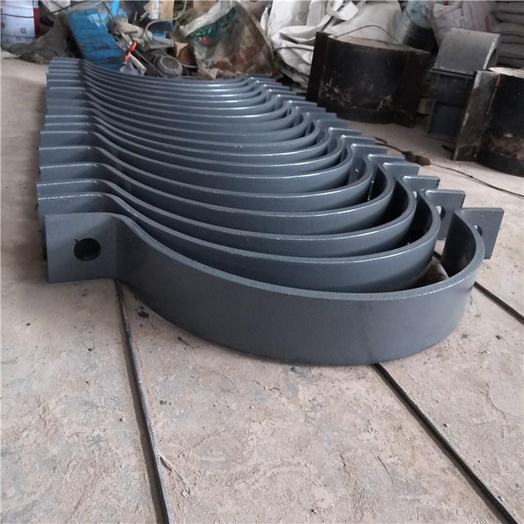 广拓管夹 A8三螺栓管夹 A9双排螺栓管夹  品质保障 支持定制