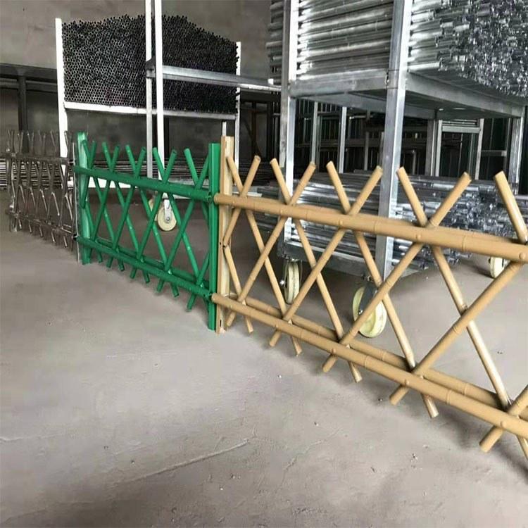 广州世腾  水泥仿竹护栏现场施工 景区水泥仿竹护栏 厂家包安装
