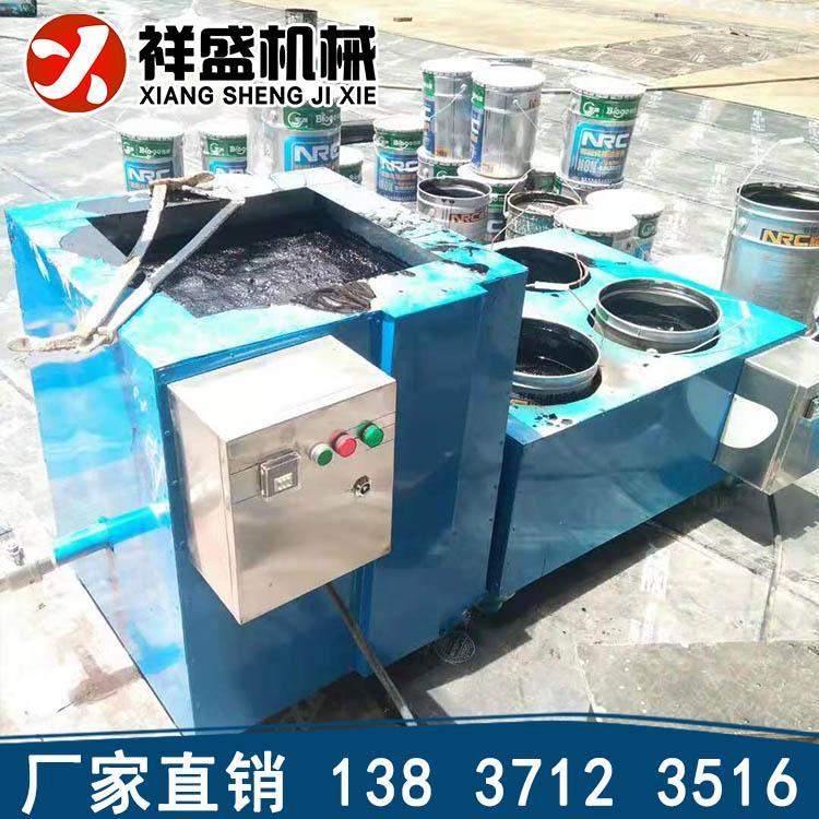 非固化喷涂设备加热棒非固化橡胶沥青喷涂机专业生产