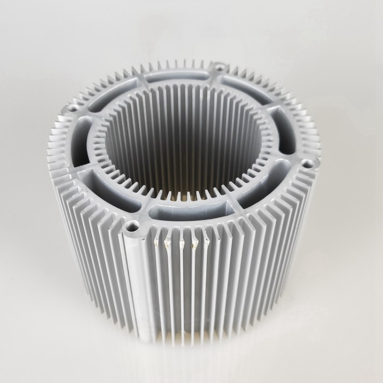 厂家定制LED灯具散热器 电子散热器铝型材加工