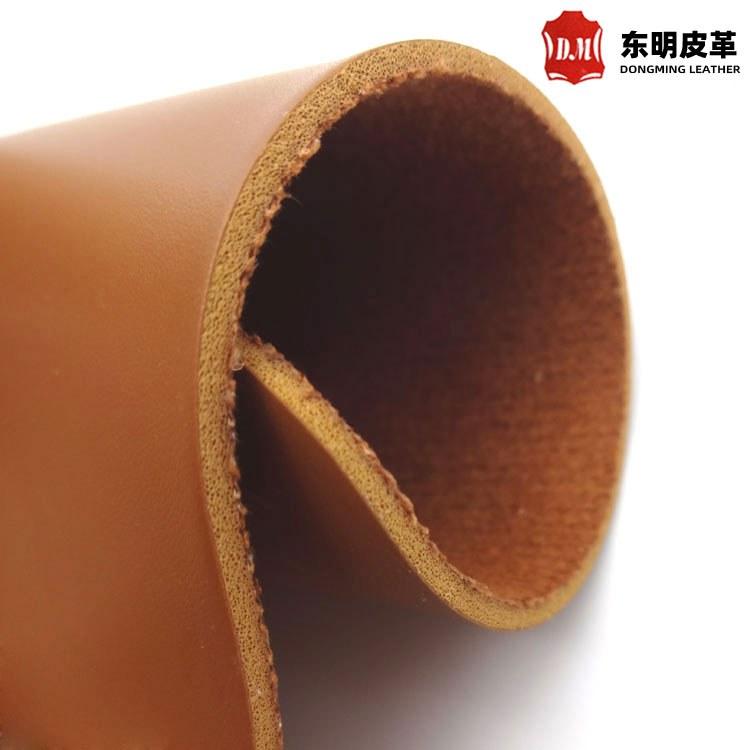 加厚硬皮革 2.mm麂皮绒底 中厚皮 马鞍革家具餐椅硬皮革加厚麂皮绒底PVC欧式简约皮椅硬皮料