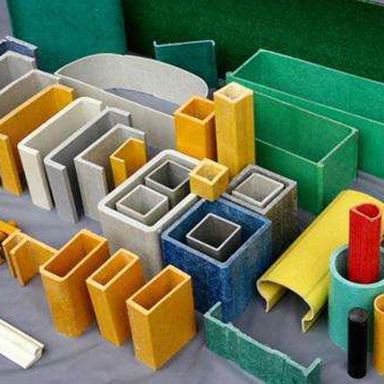 海南 玻璃钢拉挤型材实心棒 玻璃钢拉挤型材U型拉挤型材 厂家