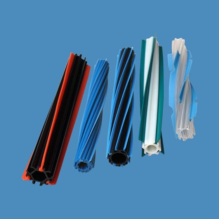 ABS塑胶管 吸尘器毛刷轴 螺旋管 可定制 主刷杆 棍刷杆