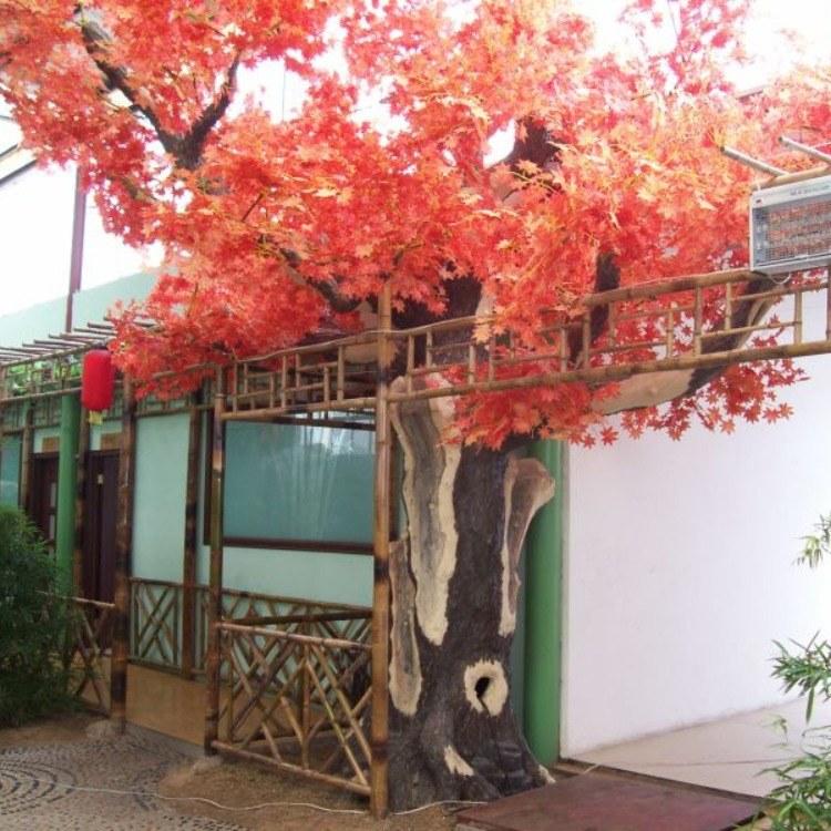 丰景园林 仿真树 新款仿真榕树桃花树 室内装饰 生态大门 水泥树 假树