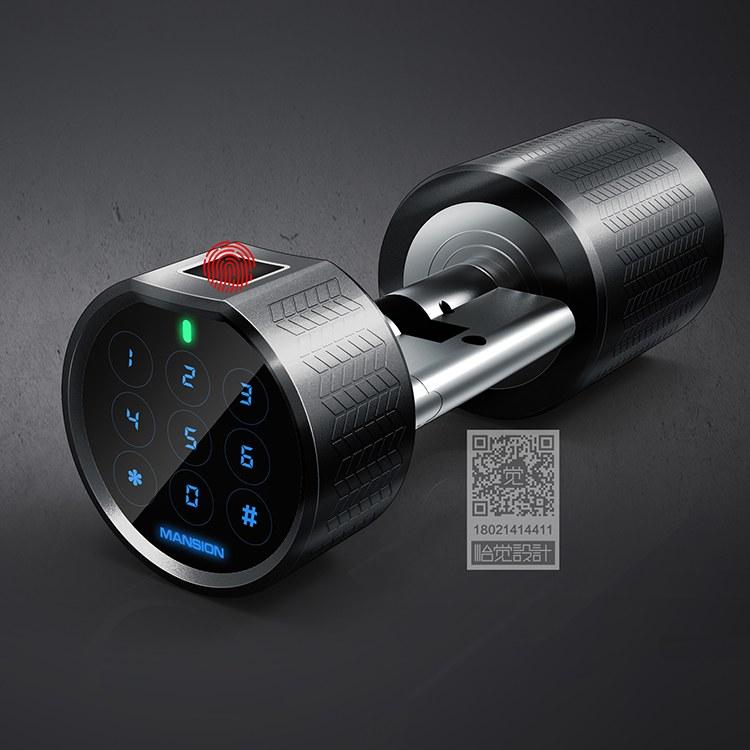智能锁工业设计 成都工业设计公司 怡觉-红点奖团队