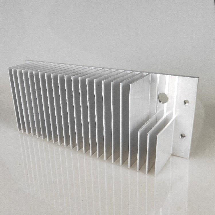 佛山定制LED灯具散热器 梳子型散热器 挤压铝型材cnc加工开模