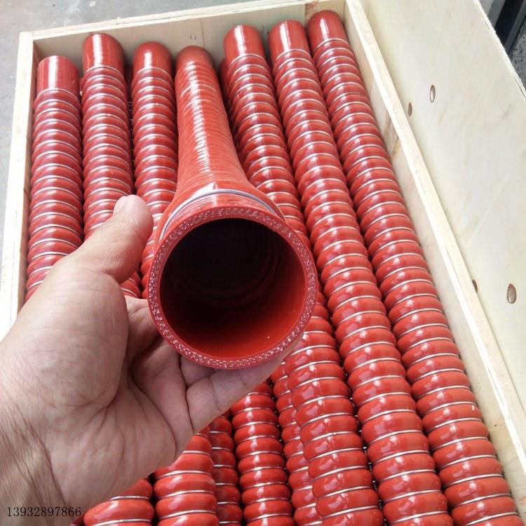 大口径硅胶管 钢丝硅胶管宏禄可定做