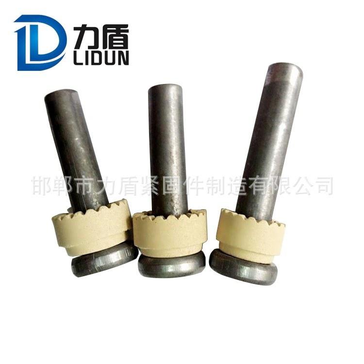 钢结构焊钉 圆柱头焊钉 焊接螺钉 磁环 全国配送 力盾紧固件