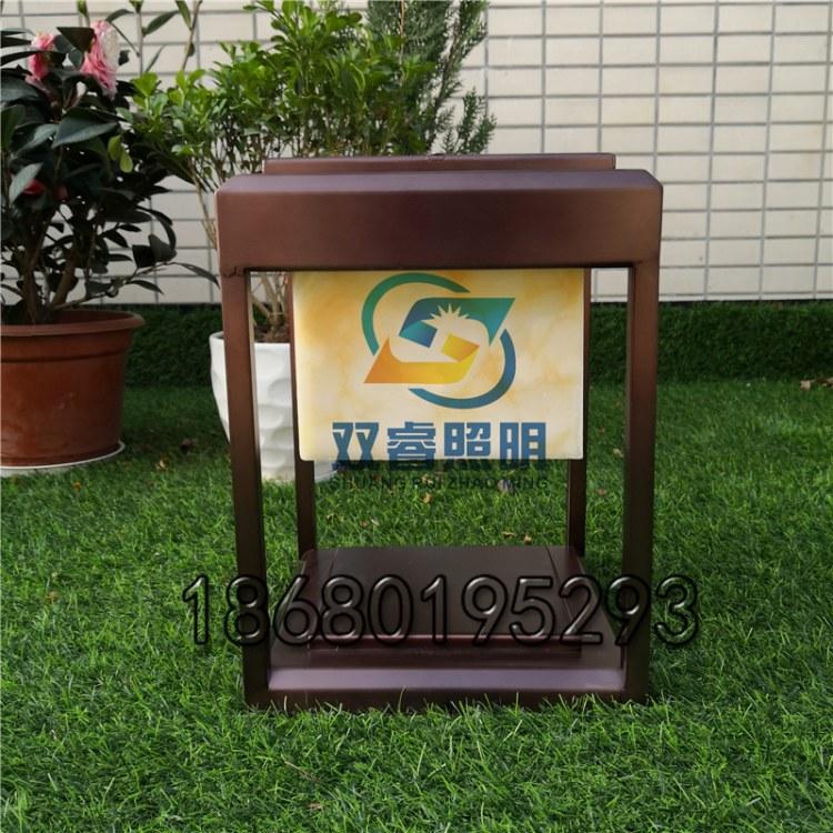 新中式路灯厂家订做防水LED洋房花园庭公园绿化景观装饰草坪灯