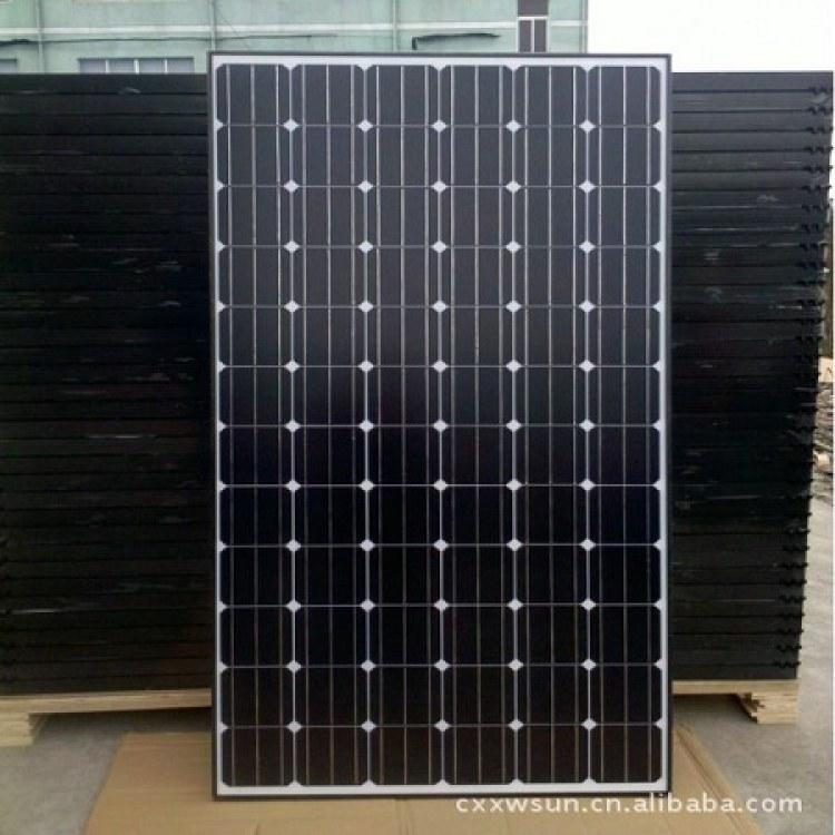 晶澳太阳能组件板回收 直收家用太阳能电池板 二手光伏发电板回收