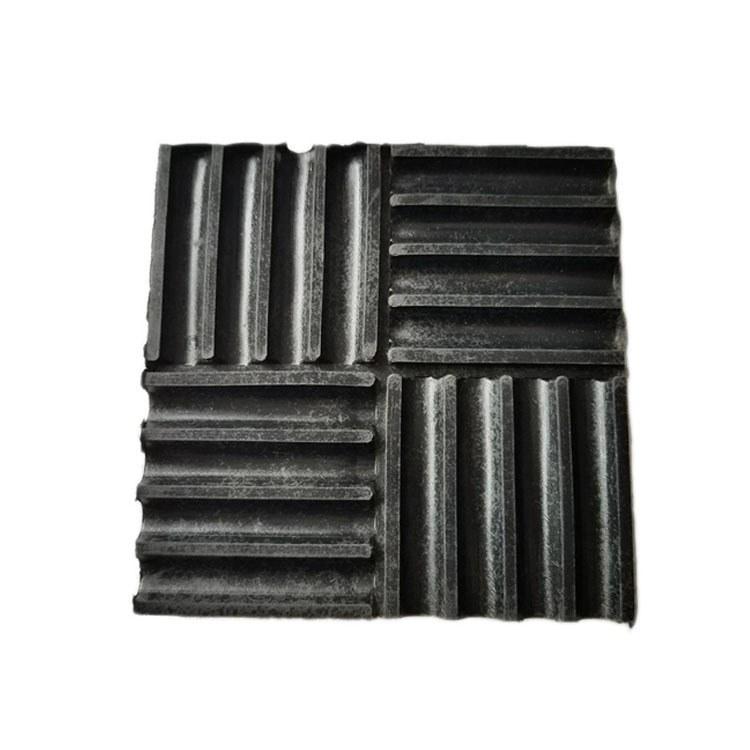 鑫博凯橡胶减震垫 风机水泵电机橡胶减震垫 方形橡胶减震垫缓冲