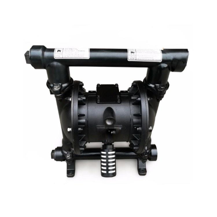 程煤矿用气动隔膜泵 矿用防爆隔膜泵 BGQ不锈钢气动隔膜泵