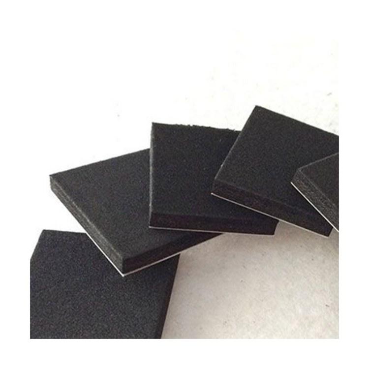 黑色方形东丽PEF泡棉 日本东丽PEF泡棉模切厂家直销