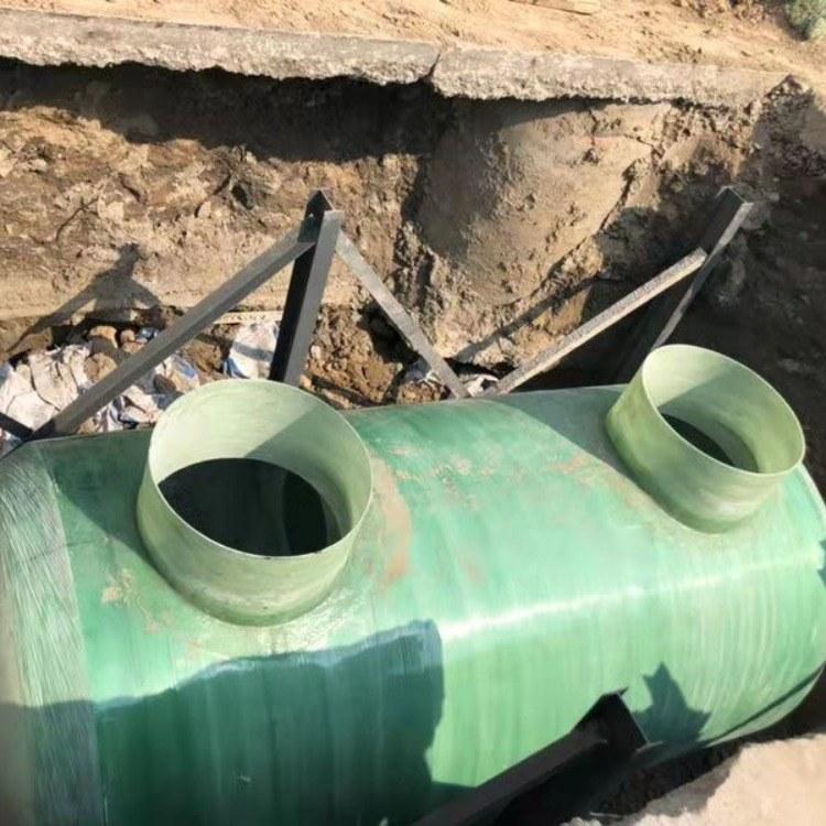 污水处理设备 农村玻璃钢化粪池厂家直销 小型污水处理设备厂 河北铭钠