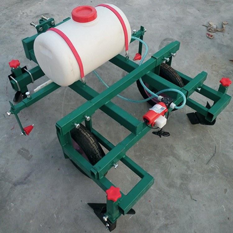 拖拉机地膜覆盖机 铺膜喷药覆膜机 铺地膜机