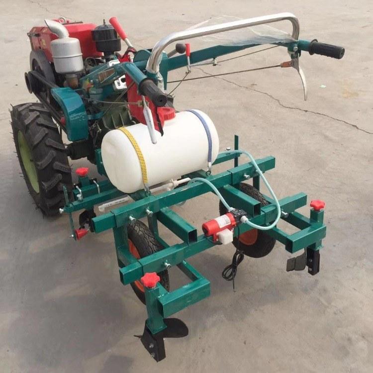手扶车地膜铺膜机 农用配药覆膜机 手扶车地膜覆盖机