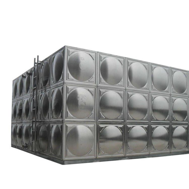 厂家直销,不锈钢保温水箱,圆形水箱报价,3吨镀锌水箱