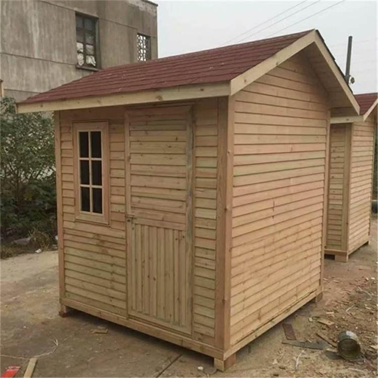 供应实木防腐木电话亭 木质电话亭定制 上海枫雪园林景观工程
