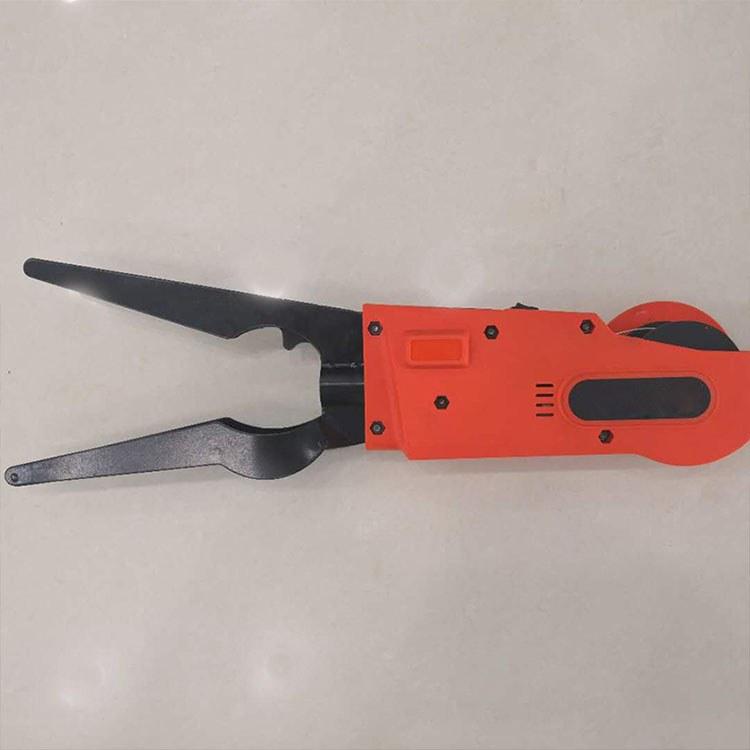 程煤高空智能光缆附挂机 可远程遥控高空附挂工具 自动高杆扎线机