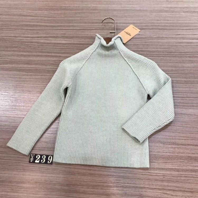 壹米粒衣服女童装 折扣童装批发 韩版儿童毛衣